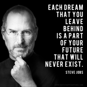 each-dream-that-you-leave-behing-is-a-part-of-your-future-that-will-never-exist-steve-jobs