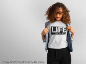womens-life-is-t-shirt-by-bootstrapped-apparel